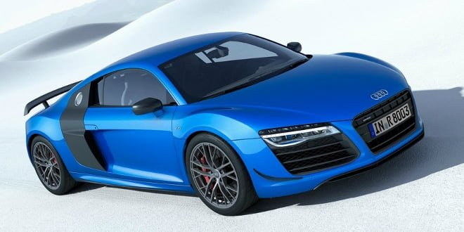 2014 Audi R8 LMX Unveiled; Debuts Laser Headlight Technology