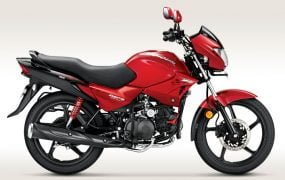 2014 Hero Glamour FI Candy Blazing Red Paint