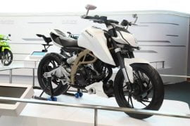 2014 TVS Draken-X21 Concept Front Right Quarter