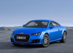2015 Audi TT Coupe Front Left Quarter