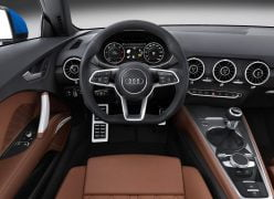 2015 Audi TT Coupe Interior Front Cabin Driver View