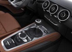 2015 Audi TT Coupe Interior Lower Centre Console