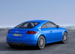 2015 Audi TT Coupe Rear Right Quarter