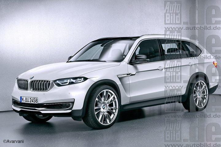BMW X7 Render Front Left Quarter