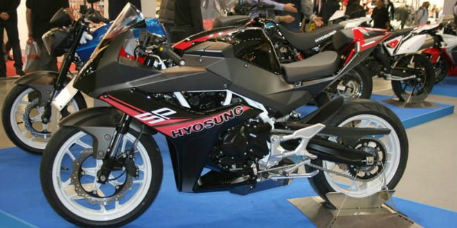 Hyosung GD250R India Launch In October [SPIED]