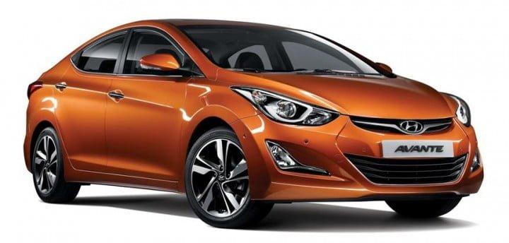 Hyundai Elantra Facelift