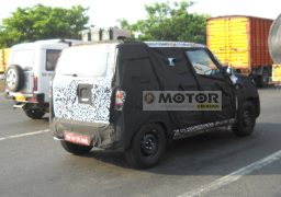 Mahindra Bolero Spy Shot Rear Right Quarter
