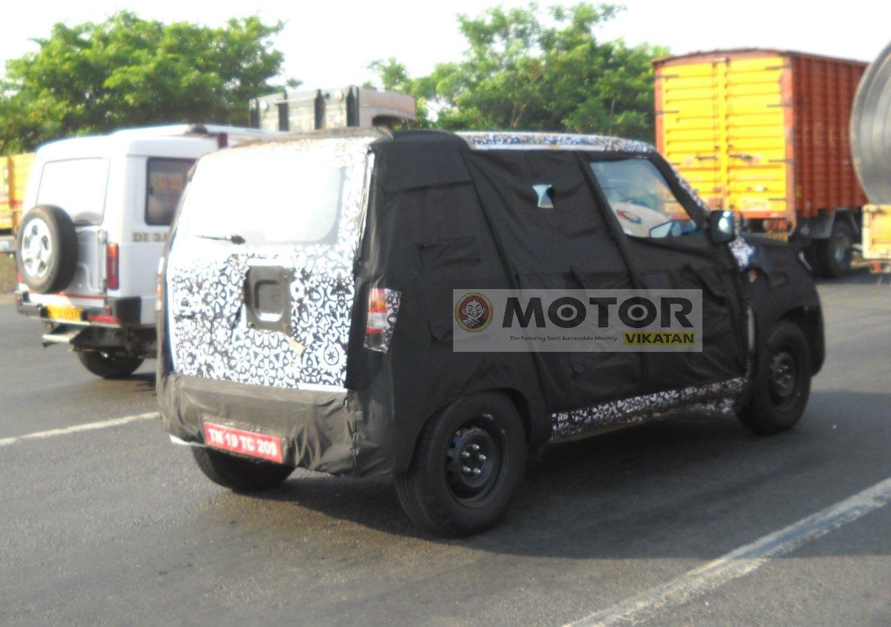 Mahindra Bolero Sub 4 Metre Variant Spied Again