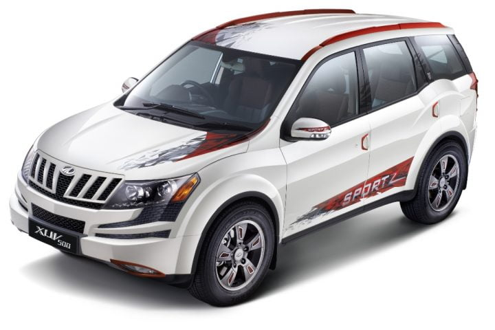 Mahindra XUV500 Sportz Special Edition Launched