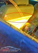 Maruti Ciaz Spy Shot Rear AC