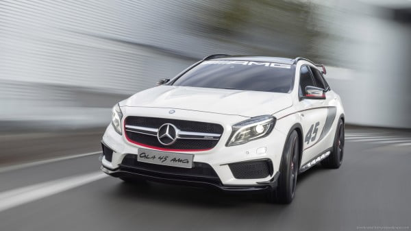 Mercedes-Benz GLA45 AMG In India for Homologation