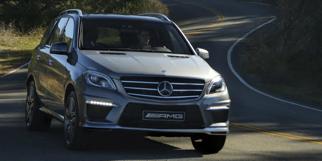 Mercedes-Benz ML63 AMG launched in India