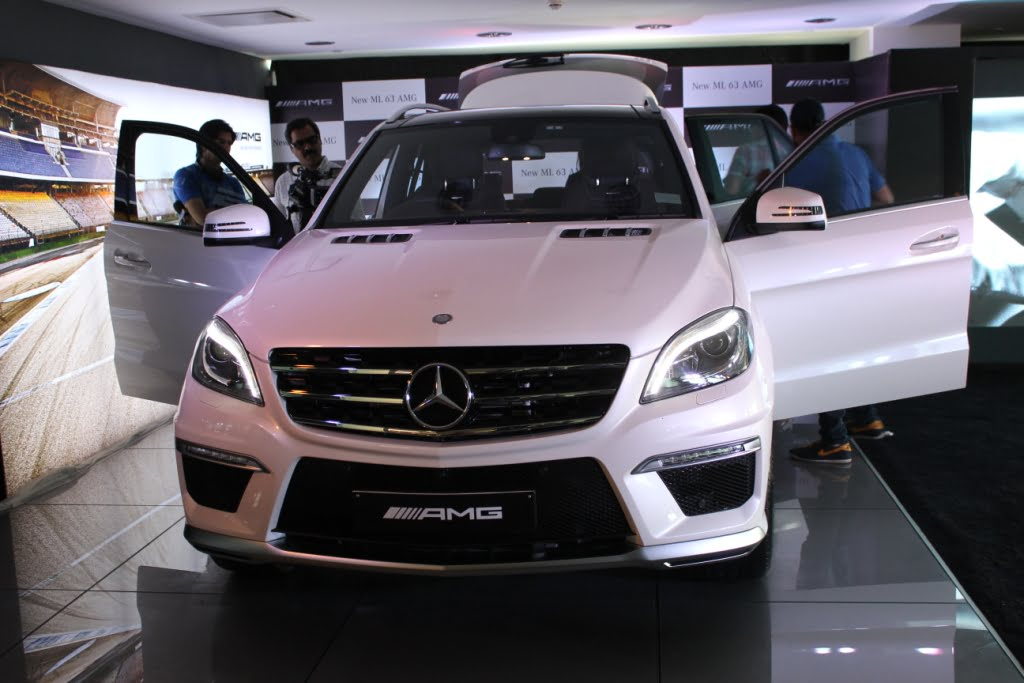 Mercedes Benz Ml63 Amg Launched In India Price Specs Features