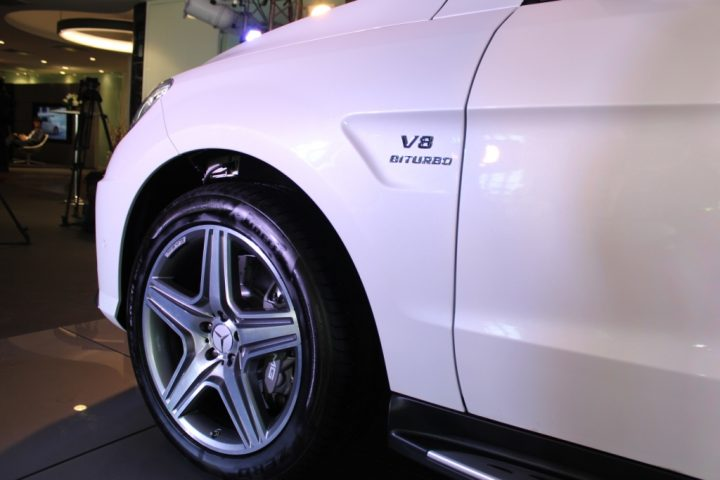 Mercedes-Benz ML63 AMG Tyres