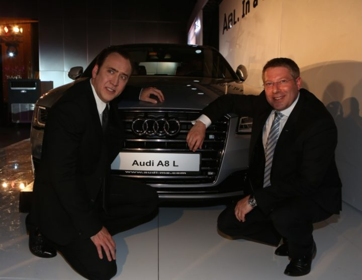 Audi A8 L Launch Dubai
