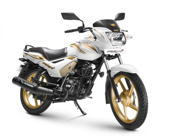 TVS Star City+ Special Gold Edition Launched