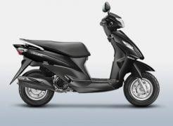 Suzuki Let's Glass Sparkle Black Paint