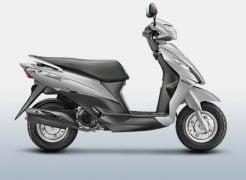 Suzuki Let's Metallic Sonic Silver Paint