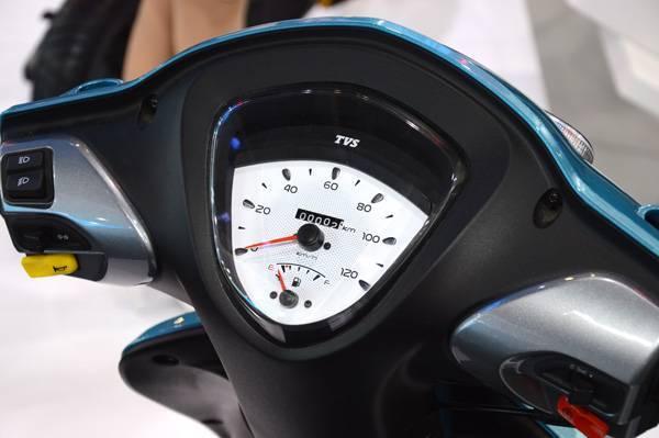 TVS scooty Zest oddometer