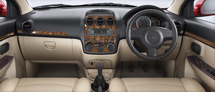 Chevrolet Enjoy Limited Edition Wood Dashboard