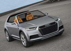2012 Audi Crosslane Coupe Concept Front Right Quarter