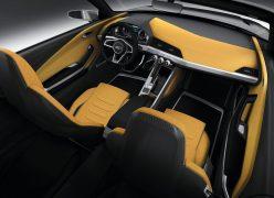 2012 Audi Crosslane Coupe Concept Interior Front Cabin
