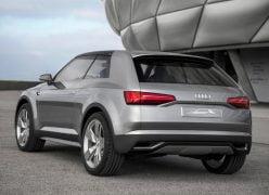 2012 Audi Crosslane Coupe Concept Rear Left Quarter