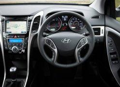 2013 Hyundai i30 Interior Driver Seat View