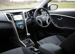2013 Hyundai i30 Interior Front Cabin Passenger Seat View