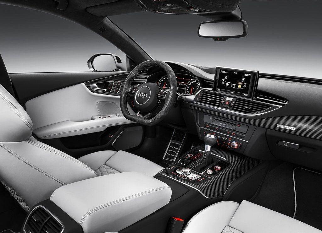 2015 audi rs7 sportback interior front cabin passenger seat view carblogindia. Black Bedroom Furniture Sets. Home Design Ideas