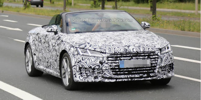SPIED: The 2016 Audi TT Roadster, Expected Launch In October