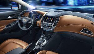 2016 Chevrolet Cruze Interior Front Cabin