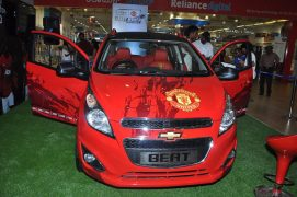 Chevrolet Beat Manchester United Special Edition Front