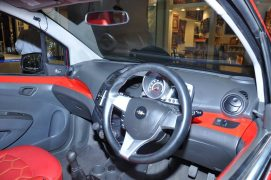Chevrolet Beat Manchester United Special Edition Interior Front Dashboard