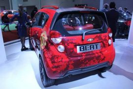 Chevrolet Beat Manchester United Special Edition Rear Left