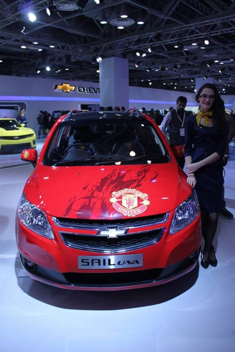 Chevrolet Sail U-VA Manchester United Special Edition Front