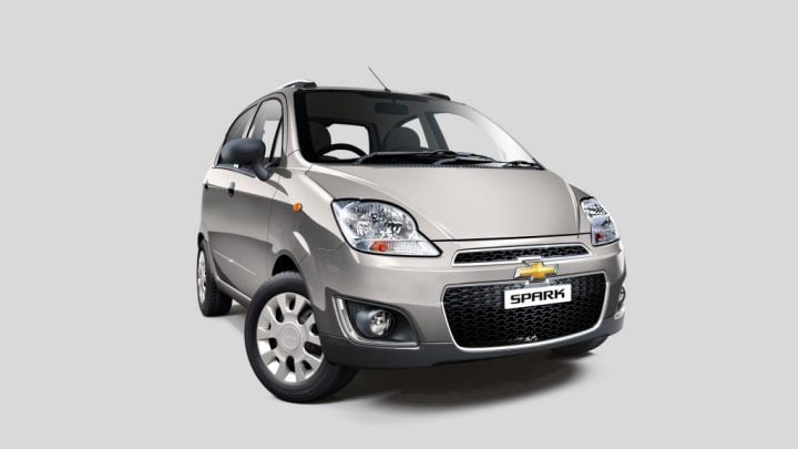 Chevrolet Spark Switchblade Silver