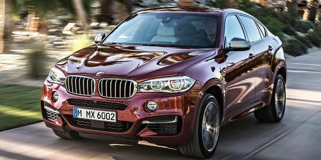 The New BMW X6 Production Begins