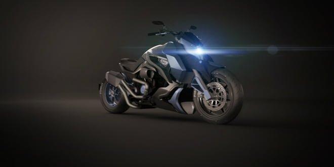 Not A Batmobile, Not A Diavel, Its The Hyosung ST7 Cruiser Concept!