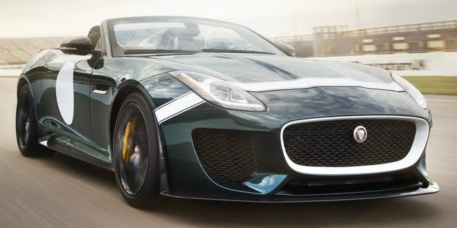 Jaguar F-Type Project 7 Showcased At Pebble Beach