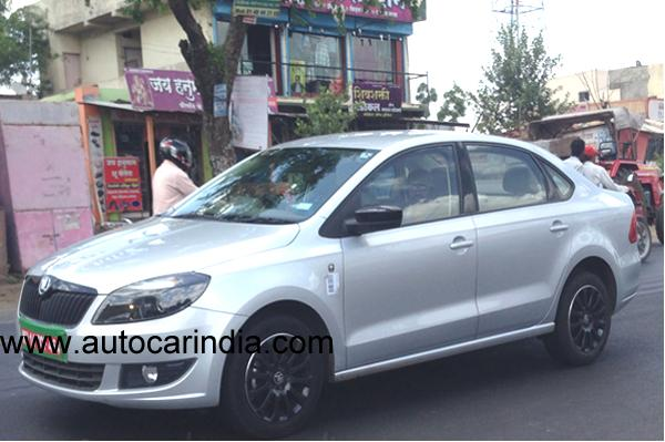 Skoda-Rapid-Black-Edition-front-spied