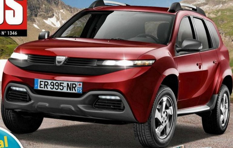 Next Generation Duster Rendered, Expected Launch in 2017