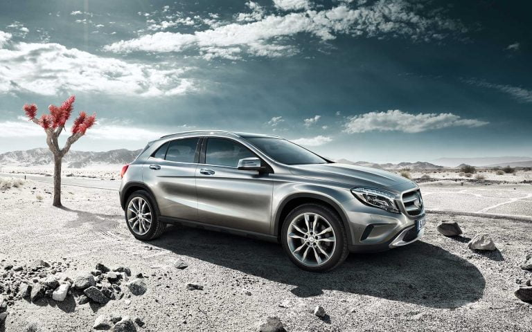 Mercedes-Benz GLA Launched
