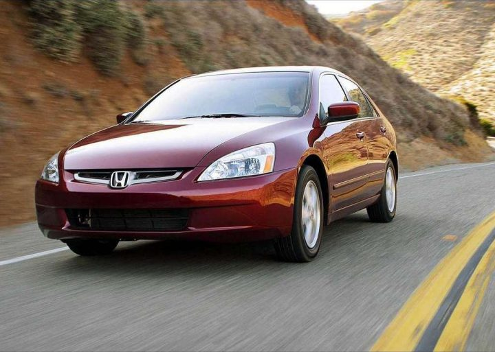 2003 Honda Accord Sedan Front Left Quarter