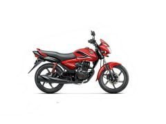 2014 Honda CB Shine Dual Tone Red and Black Paint