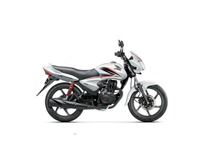 2014 Honda CB Shine Pearl Amazing White