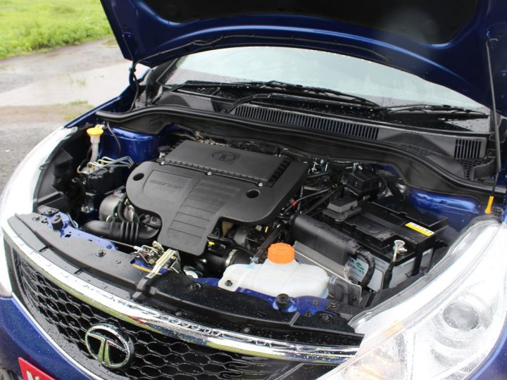 2014 Tata Zest Engine Bay
