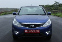 2014 Tata Zest Front Dynamic
