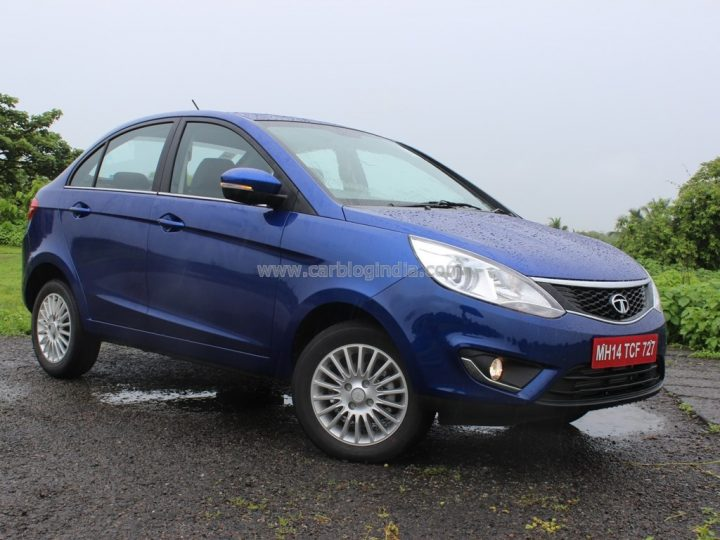 2014 Tata Zest Front Right Quarter