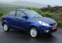 2014 Tata Zest Front Right Quarter Dynamic